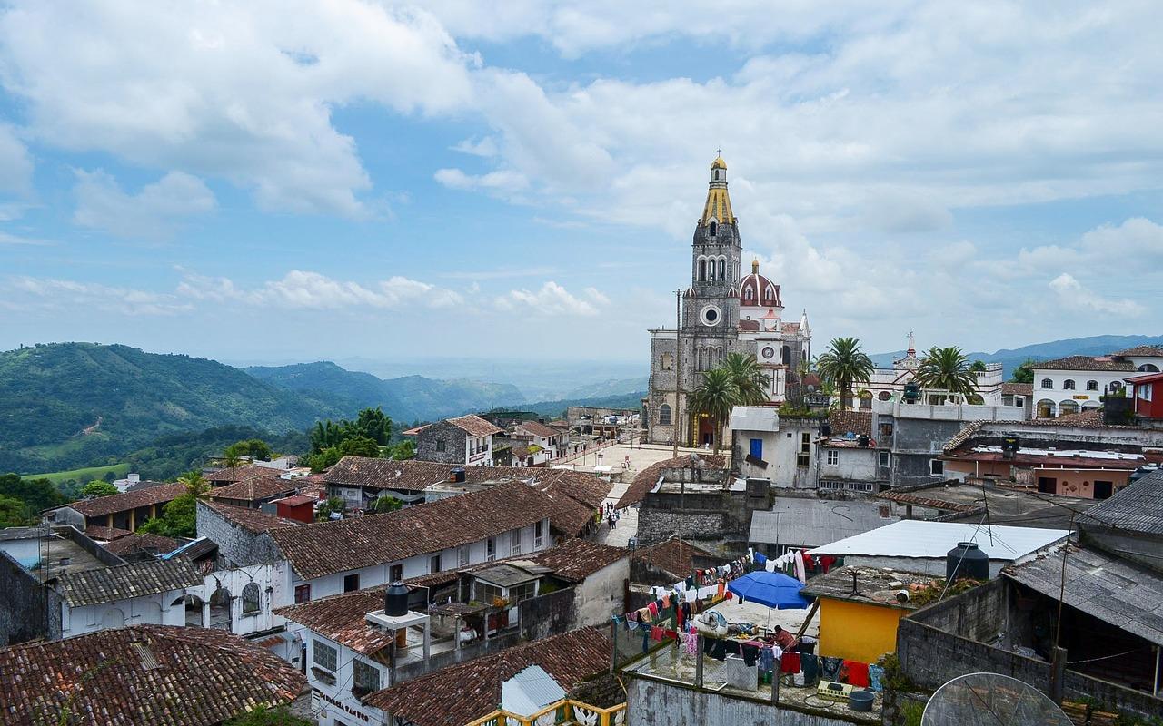 La ville de Puebla de Zaragoza