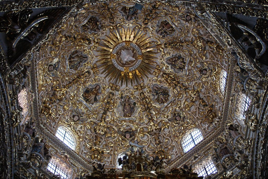 la Chapelle du Rosaire de Puebla de Zaragoza