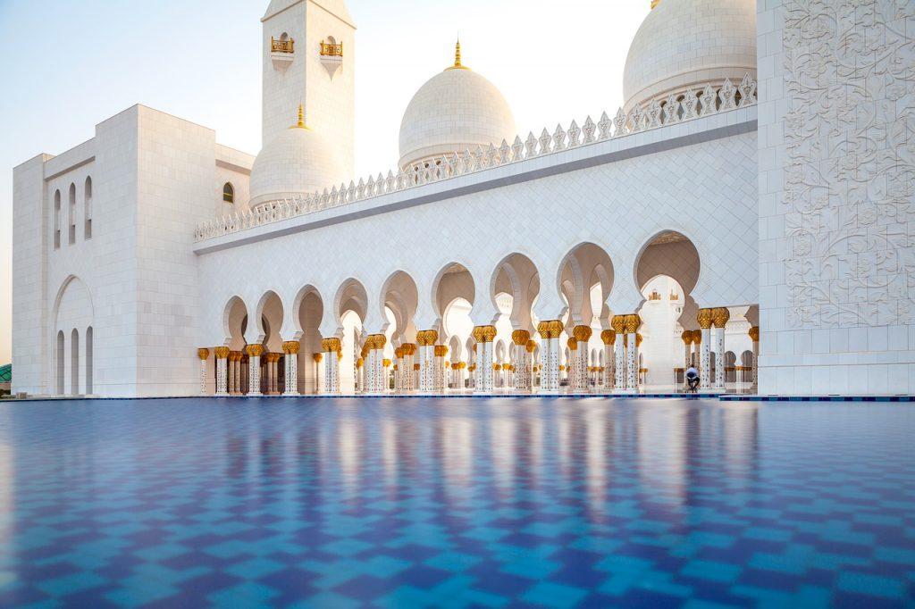 Emirats Arabes Unis : mosquée