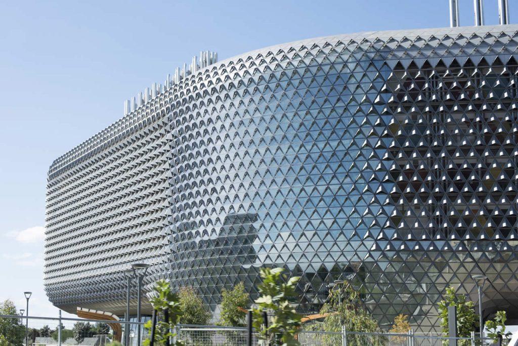 Architecture moderne d'Adélaïde, le building de SAHMRI