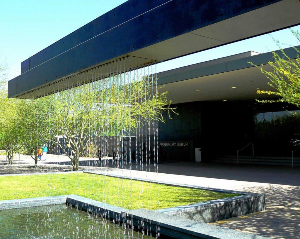 Entrée au Phoenix Art Museum