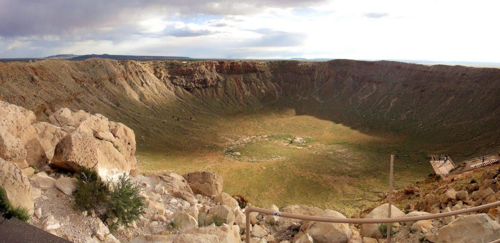 Le meteor crater en Arizona
