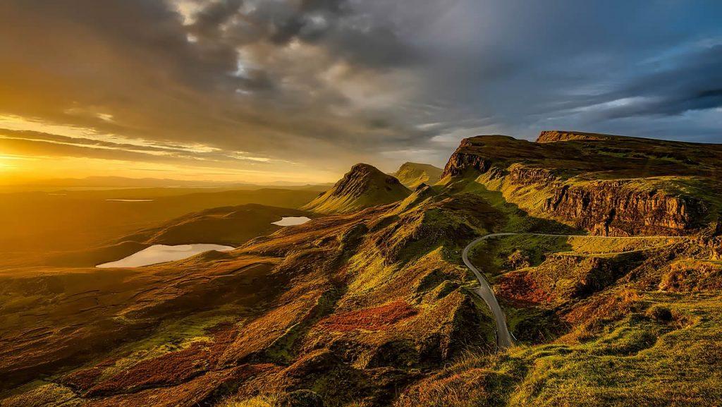 Le paysage légendaire de l'Écosse