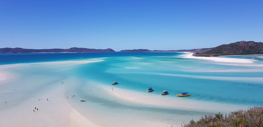 Plage de Cairns en Australie