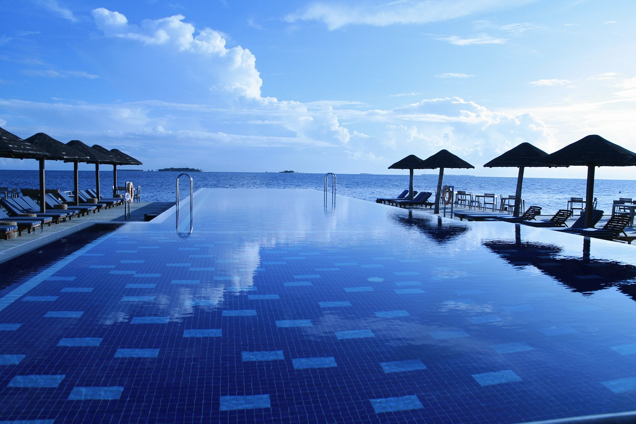 Paysage aux îles Maldives
