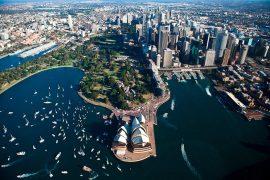 Sydney vue du ciel