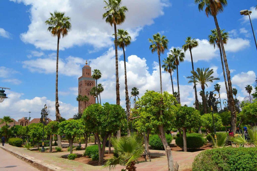 Koutoubia à Marrakech au Maroc