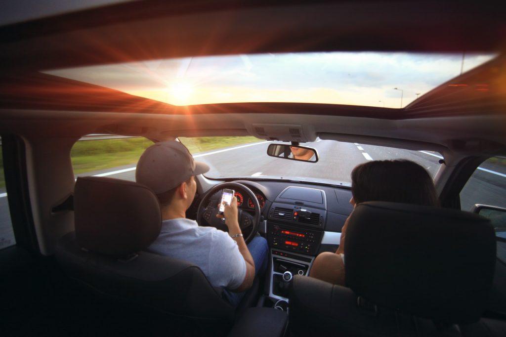 Voyage en voiture a deux