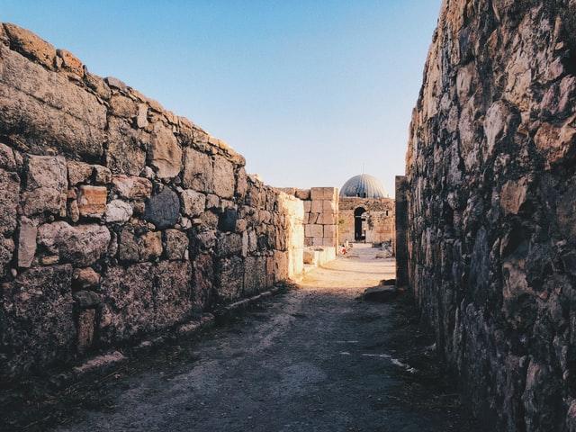 La citadelle d'Amman en Jordanie - Moyen Orient