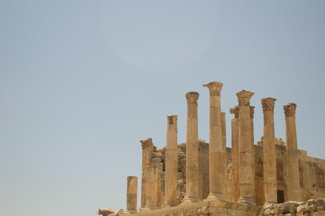 Ruines de Jerash Jordanie
